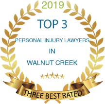 2019 Top 3 Personal Injury Lawyers in Walnut Creek.