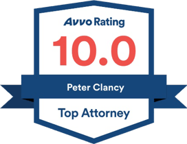 AVVO Rating 10 Peter Clancy Top Attorney